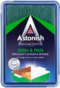 Astonish Dish & Pan Specialist Cleaner & Sponge