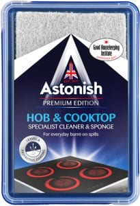 Astonish Hob & Cooktop Specialist Cleaner & Sponge